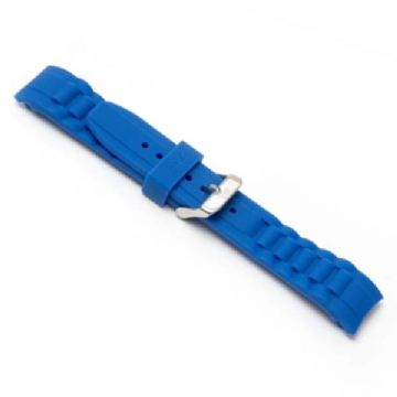 Blue Silicone Watch Strap to Fit Ice Watches